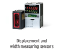 Displacement and Width Measuring Sensors